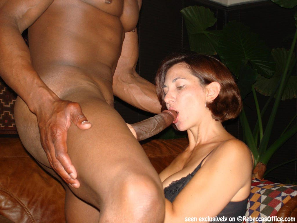 Shy mature wife goes black